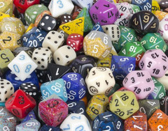 Chessex: Dice Assorted Colours D6