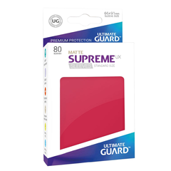 Ultimate Guard: Supreme UX MATTE Red
