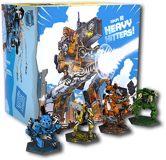 GKR: Heavy Hitters + Kickstarter Exclusive Bundle