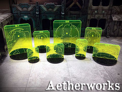 Aetherworks: N3 Range Templates Assorted Colours