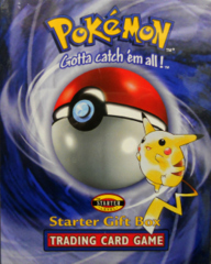 1999 Pokemon Starter Gift Box