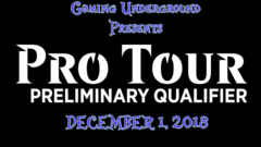 PPTQ December 1st, 2018