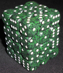 36 Recon Speckled 12mm D6 Dice Block