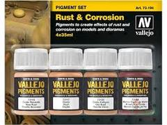 Pigment set: Rust and Corrosion