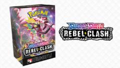 Pokemon Sword and Shield : Rebel Clash PRERELEASE