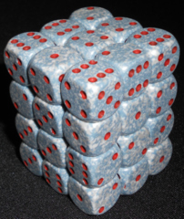 36 Air speckled 12mm D6 Dice Block