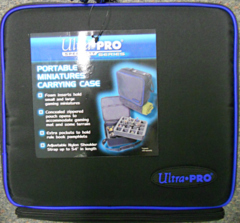 Ultra-Pro Portable Miniatures Carrying Case