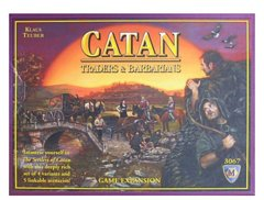 Settlers of Catan Card Game: Barbarians and Traders Upgrade Kit