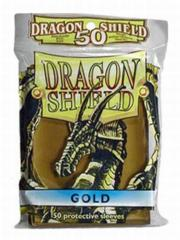Dragon Shield- Gold 50ct Sleeve