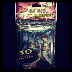 Konami 50ct Kaiba and Obelisk the Tormentor Sleeves