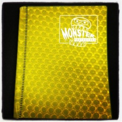 Monster 2 pocket binder