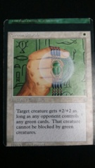 Green Scarab- Ice Age- Miscut
