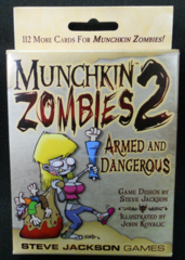 Munchkin Zombies 2- Armed and Dangerous