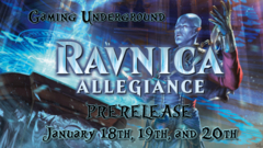 Ravnica Allegiance Saturday Prerelease