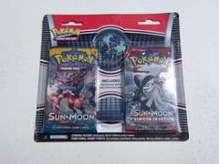 Sun & Moon + Crimson Invasion Collectors Pin Blister Pack-Lunala