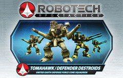 Robotech RPG Tactics: United Earth Defense Force Destroid Pack