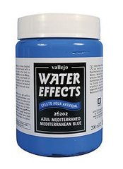 Mediterranean Blue 200ml, Vallejo Wet Effects Val26202