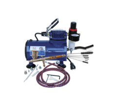 TG-100D Gravity Feed Airbrush & Compressor Package