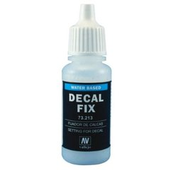 Vallejo Auxillaries - Decal Fix - Val73213 - 17ml