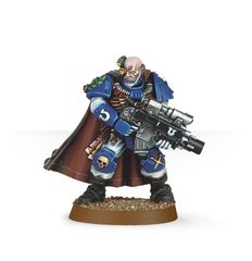 Space Marine Scout Sergeant Telion