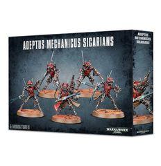 Adeptus Mechanicus Sicarian Infiltrators