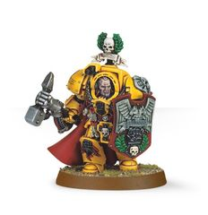 Captain Lysander of the Imperial Fists