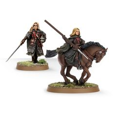 Eowyn Foot and Mounted