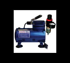 D500SR 1/8 HP piston compressor with regulator & moisture trap