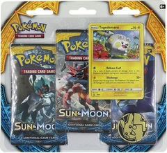 Sun & Moon - Burning Shadows Pack Blister with Togedemaru Promo