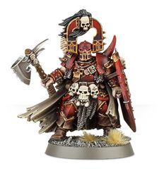 Khorne Bloodbound Exalted Deathbringer with Bloodbite Axe