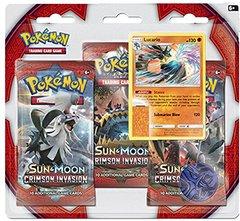 Sun & Moon - Crimson Invasion 3 Pack Blister - Lucario