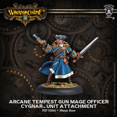 Arcane Tempest Gun Mage Officer