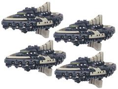 Battlefleet Gothic: Tau Nicassar Dhow (Alien Escorts)