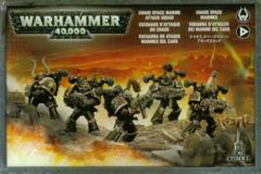 Chaos Space Marine Attack Squad