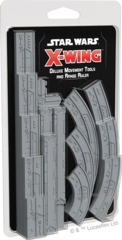 Deluxe Movement Tools and Range Ruler, Star Wars, X-Wing, 2nd Edition