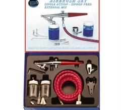 H-SET Single Action Siphon Feed Airbrush Set