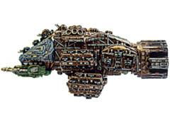 Battlefleet Gothic: Ork Slamblaster,