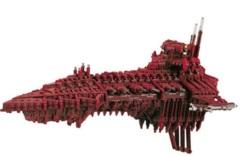 Battlefleet Gothic: Chaos Desolator Battleship