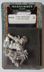 Chaos Terminator with Bolter-Flamer Combi