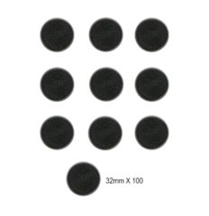 32mm Round Bases (100 Pack)