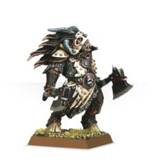 Beastmen Beastlord with Two Hand Weapons