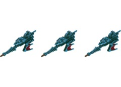 Battlefleet Gothic: Eldar Hemlock Destroyers