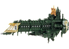 Battlefleet Gothic: Imperial Retribution Class Battleship