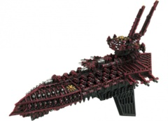 Battlefleet Gothic: Chaos Repulsive Grand Cruiser
