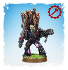 Chaos Space Marine Emperor's Children Lord