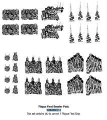 Battlefleet Gothic: Plague Fleet Bitz Pack