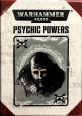 Datacards: Psychic Powers