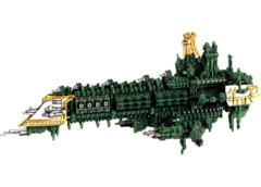 Battlefleet Gothic: Imperial Emperor Class Battleship