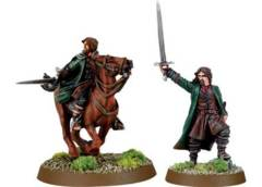 Aragorn Foot and Mounted