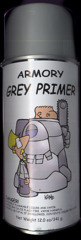 Paint: Armory Spray Primer (Grey)
